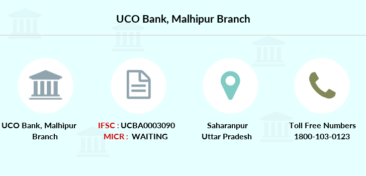 Uco-bank Malhipur branch