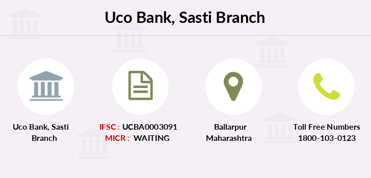 Uco-bank Sasti branch