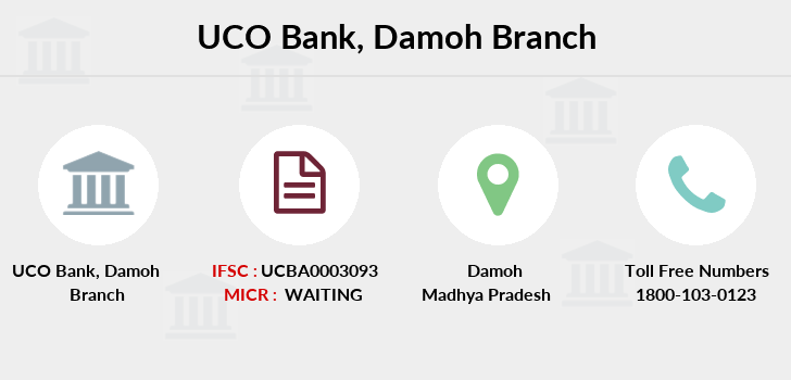 Uco-bank Damoh branch