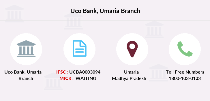 Uco-bank Umaria branch