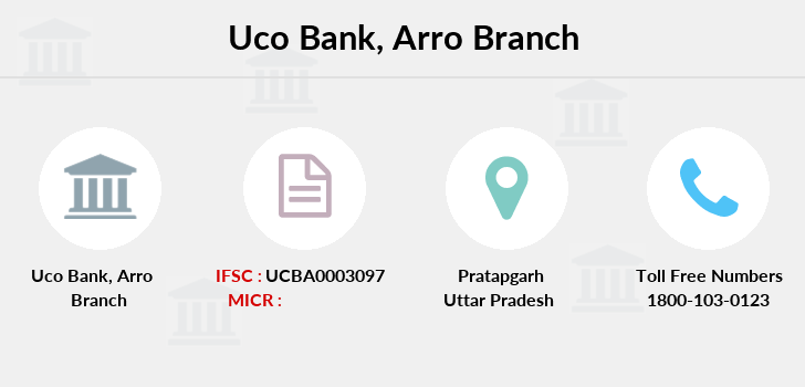 Uco-bank Arro branch