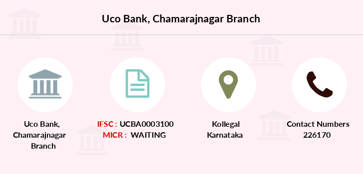 Uco-bank Chamarajnagar branch
