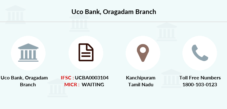 Uco-bank Oragadam branch
