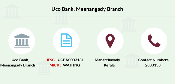 Uco-bank Meenangady branch