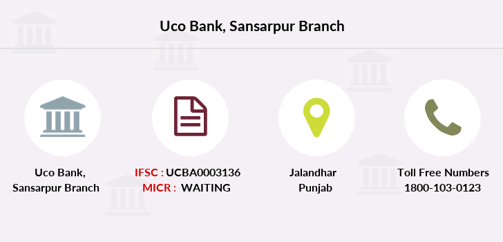 Uco-bank Sansarpur branch