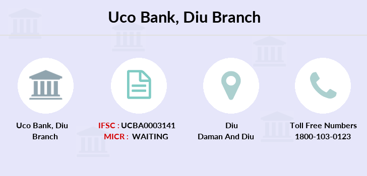 Uco-bank Diu branch