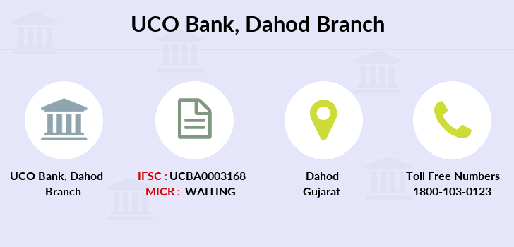 Uco-bank Dahod branch