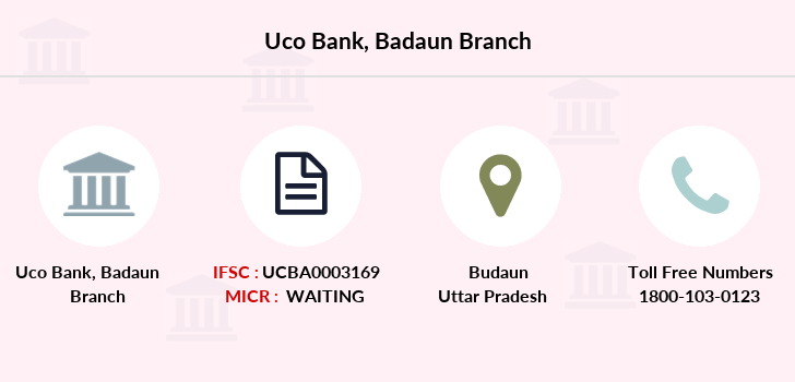 Uco-bank Badaun branch