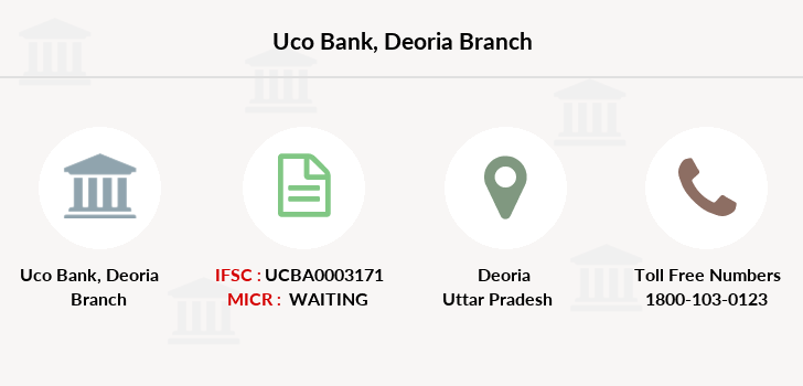 Uco-bank Deoria branch
