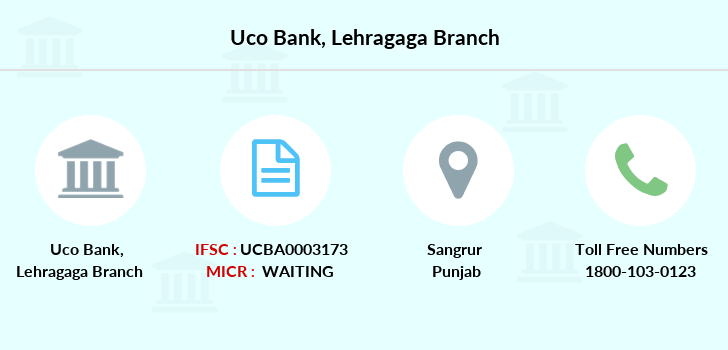 Uco-bank Lehragaga branch