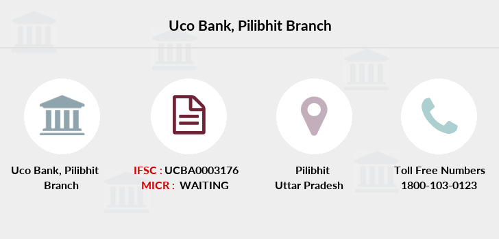 Uco-bank Pilibhit branch
