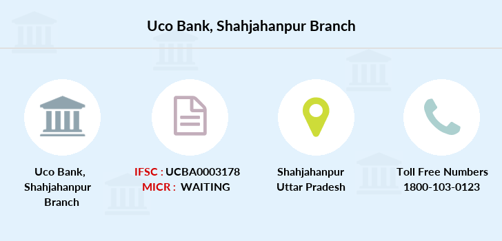 Uco-bank Shahjahanpur branch