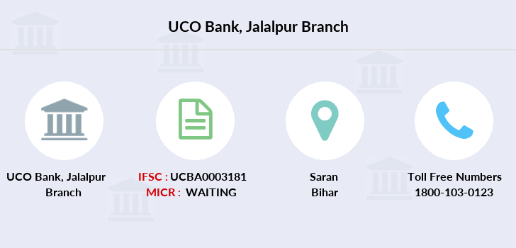 Uco-bank Jalalpur branch