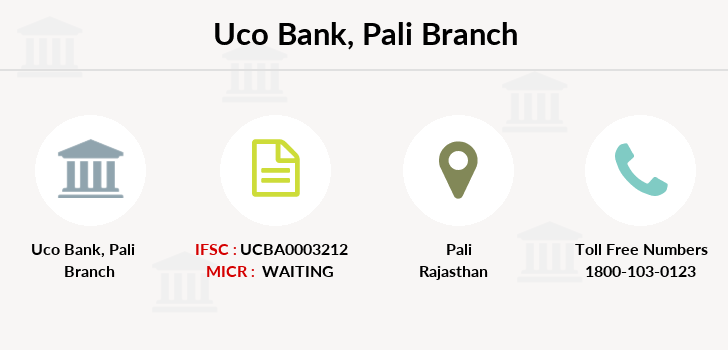 Uco-bank Pali branch