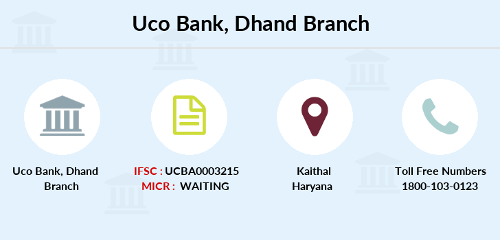 Uco-bank Dhand branch