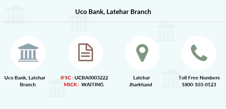 Uco-bank Latehar branch