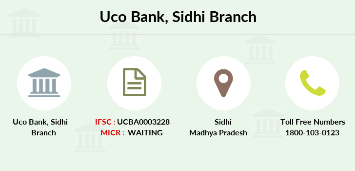 Uco-bank Sidhi branch