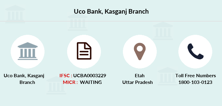 Uco-bank Kasganj branch