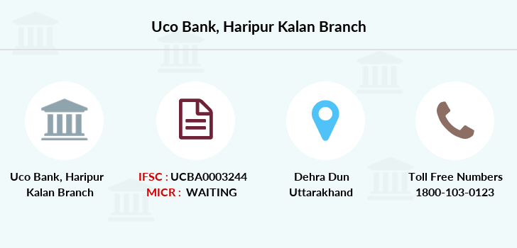 Uco-bank Haripur-kalan branch