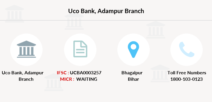 Uco-bank Adampur branch