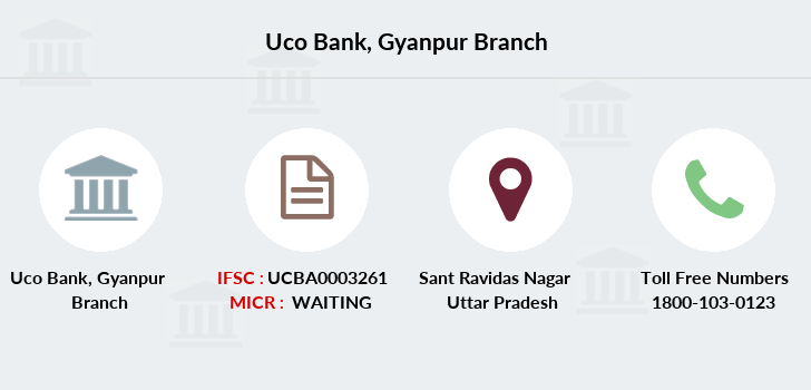 Uco-bank Gyanpur branch