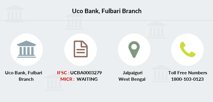 Uco-bank Fulbari branch