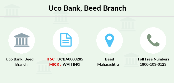 Uco-bank Beed branch