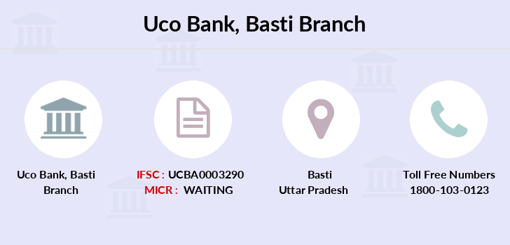 Uco-bank Basti branch