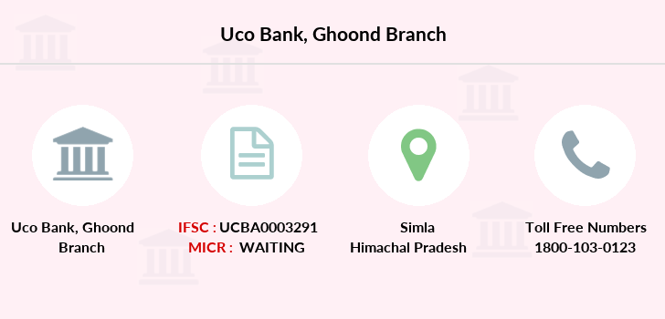 Uco-bank Ghoond branch