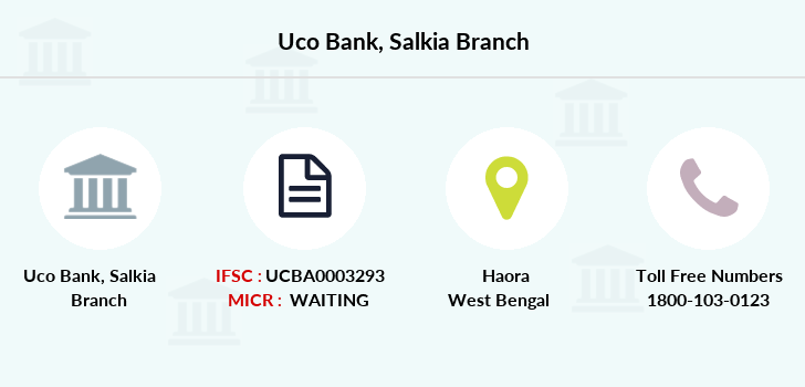 Uco-bank Salkia branch