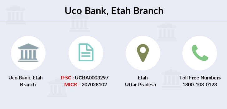 Uco-bank Etah branch