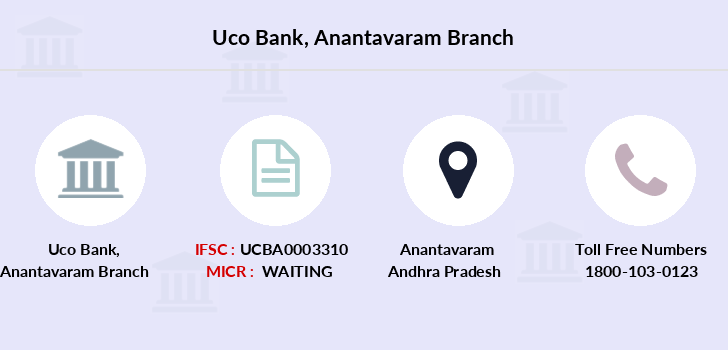 Uco-bank Anantavaram branch