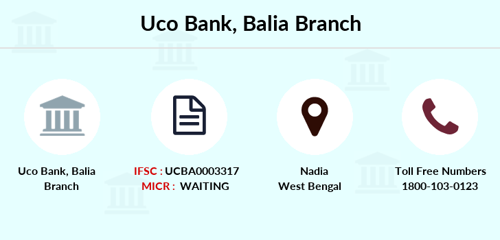 Uco-bank Balia branch