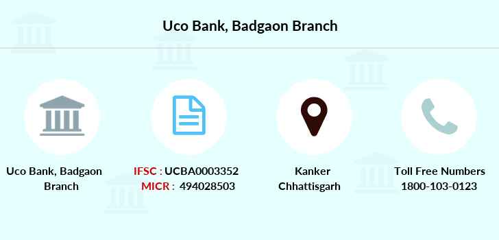 Uco-bank Badgaon branch