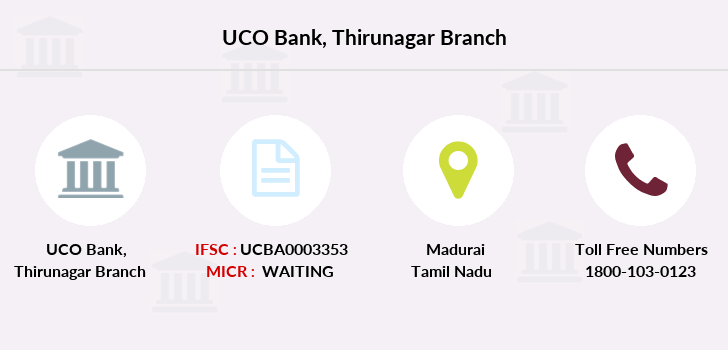 Uco-bank Thirunagar branch