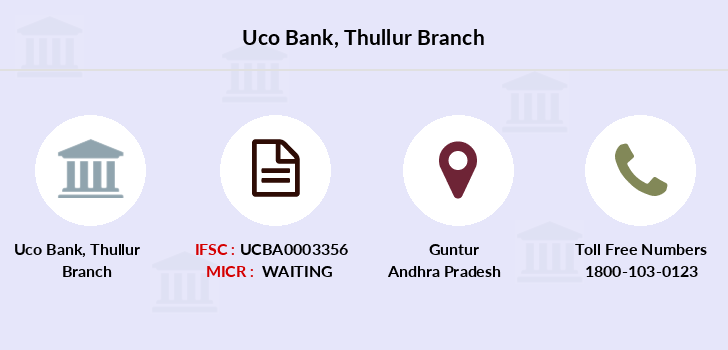 Uco-bank Thullur branch