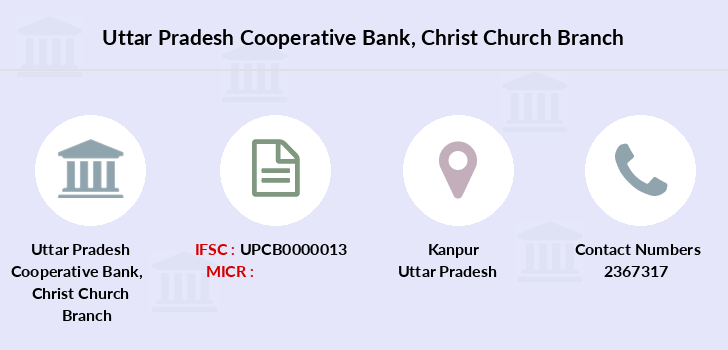 Uttar-pradesh-cooperative-bank Christ-church branch