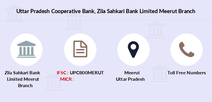 Uttar-pradesh-cooperative-bank Zila-sahkari-bank-limited-meerut branch
