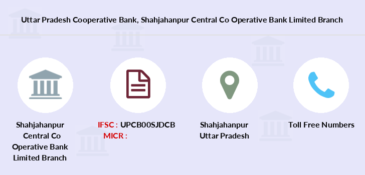 Uttar-pradesh-cooperative-bank Shahjahanpur-central-co-operative-bank-limited branch