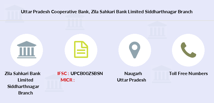 Uttar-pradesh-cooperative-bank Zila-sahkari-bank-limited-siddharthnagar branch