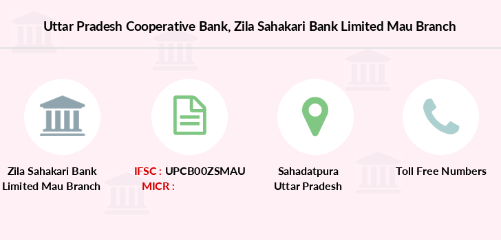 Uttar-pradesh-cooperative-bank Zila-sahakari-bank-limited-mau branch
