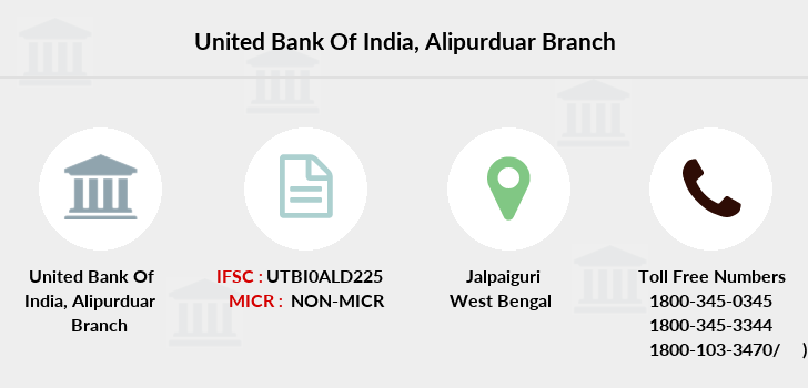 United-bank-of-india Alipurduar branch