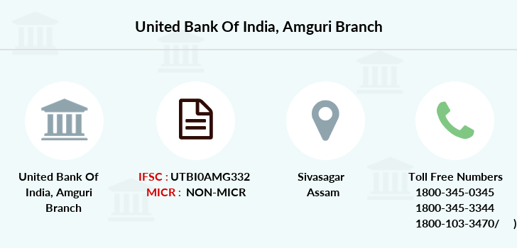 United-bank-of-india Amguri branch