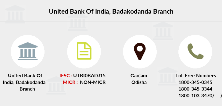 United-bank-of-india Badakodanda branch