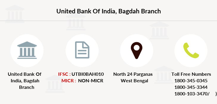 United-bank-of-india Bagdah branch
