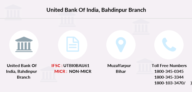 United-bank-of-india Bahdinpur branch