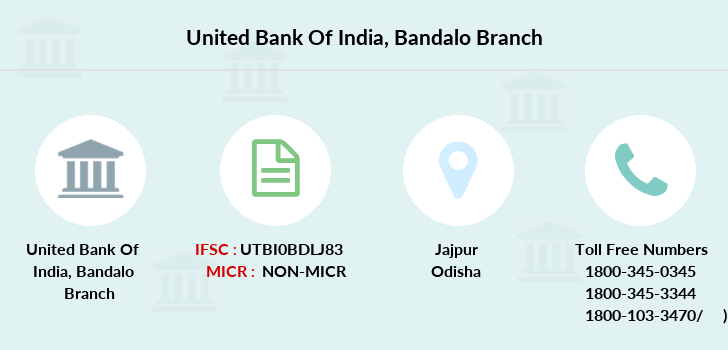 United-bank-of-india Bandalo branch