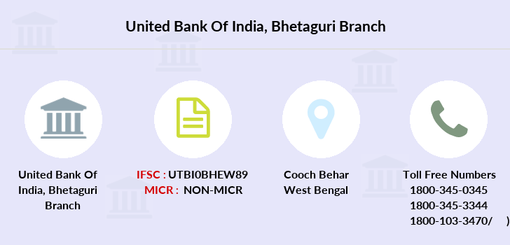 United-bank-of-india Bhetaguri branch