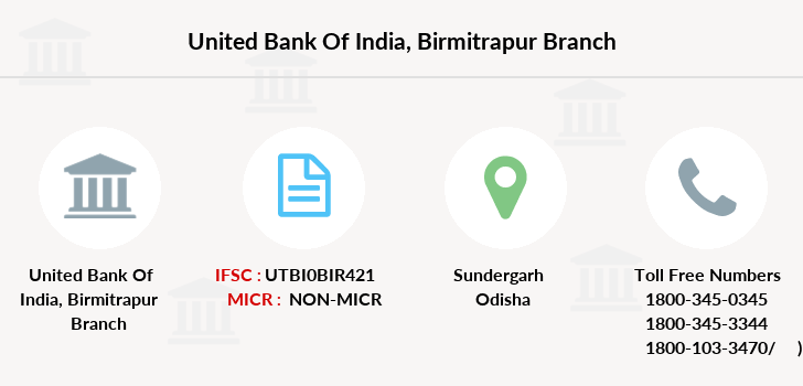 United-bank-of-india Birmitrapur branch