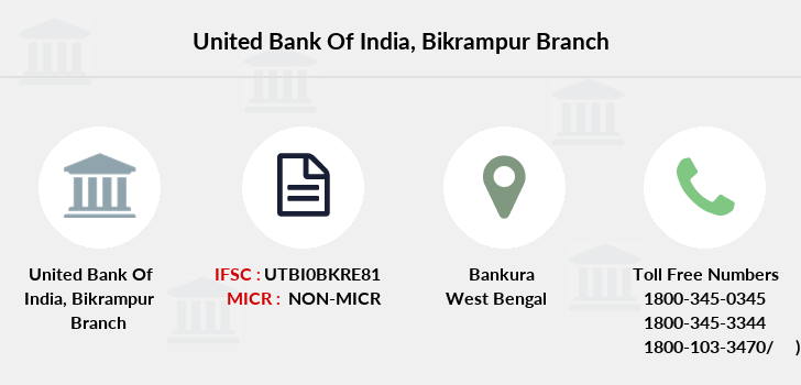 United-bank-of-india Bikrampur branch